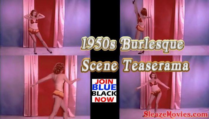 1950s Burlesque Dance scene : Teaserama
