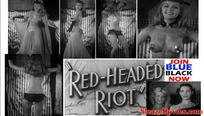 Red Headed Riot (1940s) Burlesque Dancer