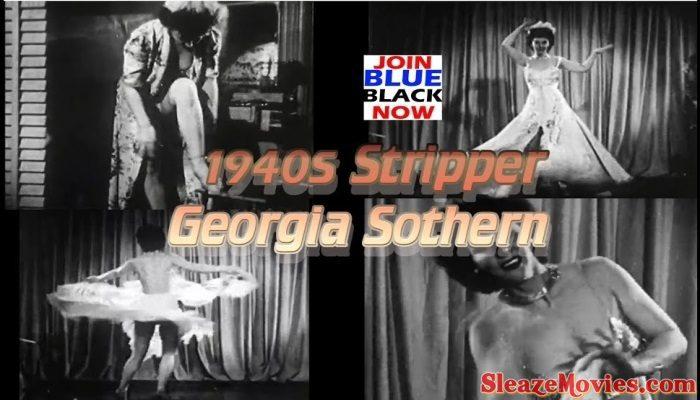 Stripper Georgia Sothern 1940s