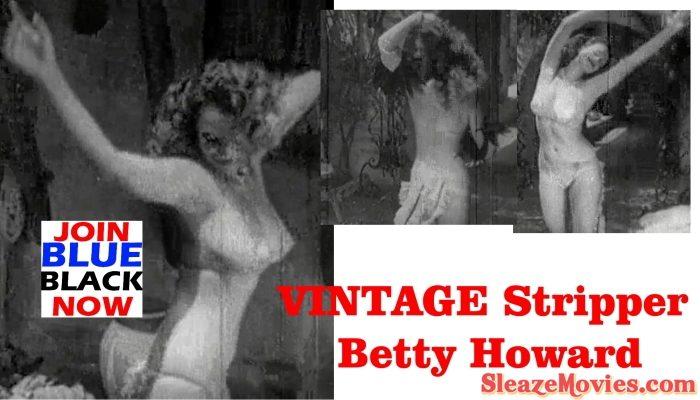 VINTAGE Stripper Betty Howard – 1940s