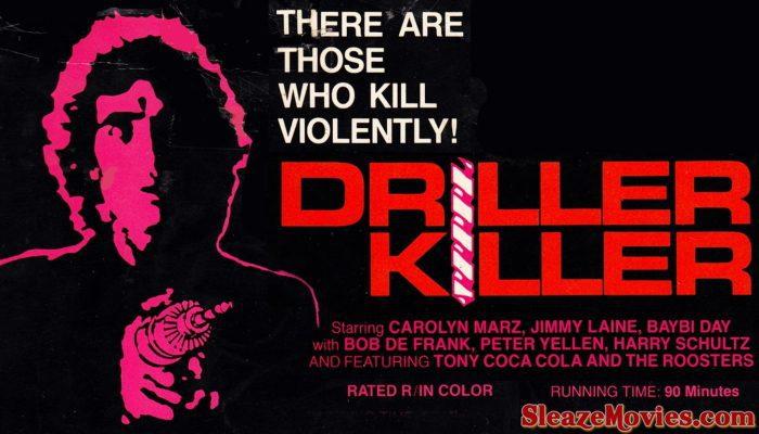 The Driller Killer (1979) watch online
